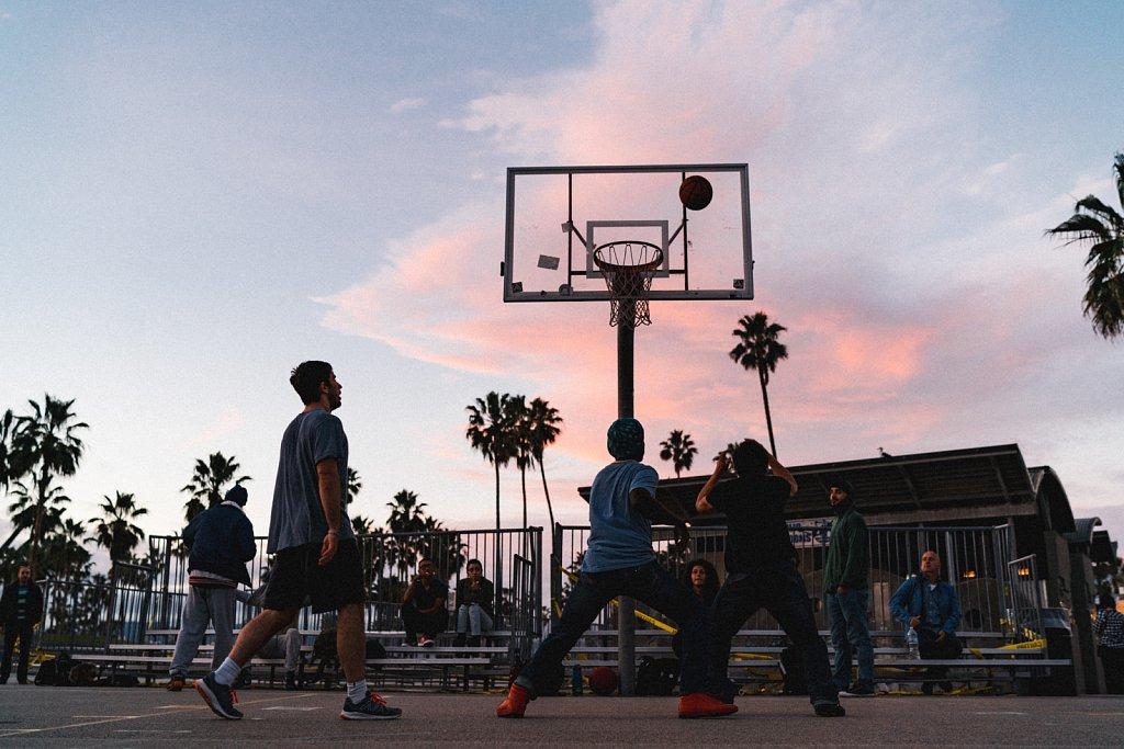 Basketball Venice Beach